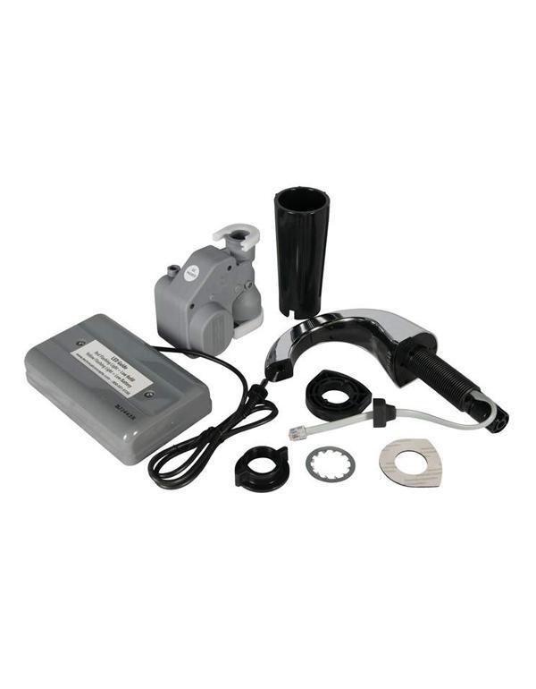 Automatic Shot Pourer ~ One shot automatic handcleanser dispenser chrome