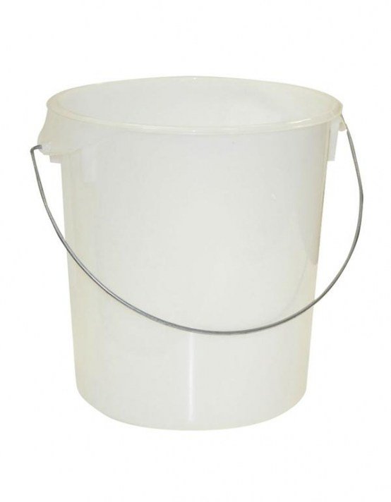 Lovely ... Round Storage Container With Handle 20 8 L Clear ...
