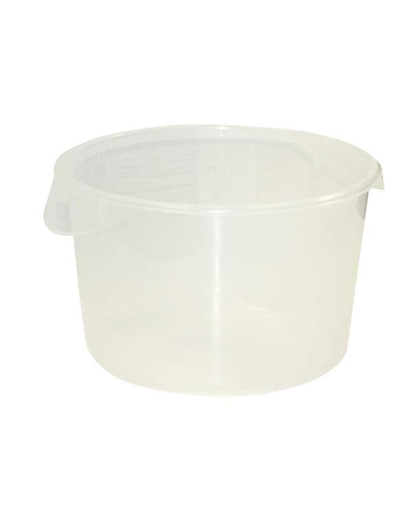 Round storage container 114 l Clear