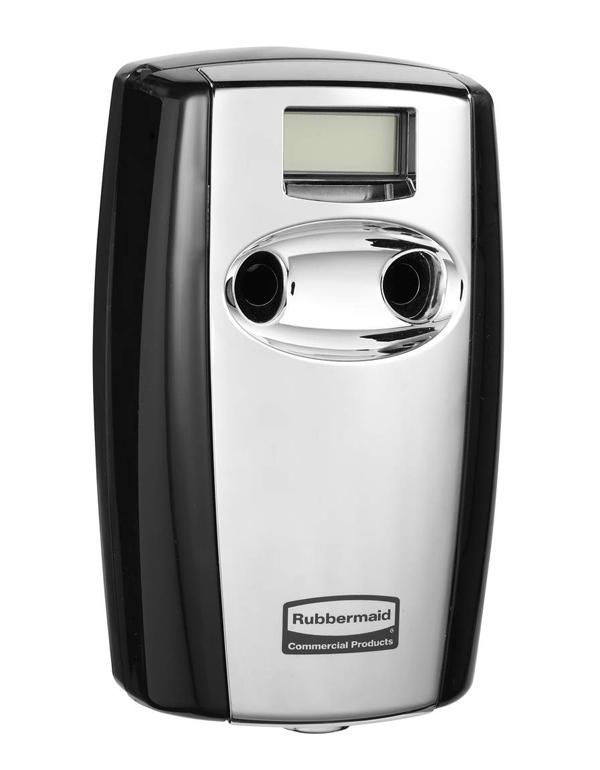 Rubbermaid Mb Duet Dispenser Black Chrome